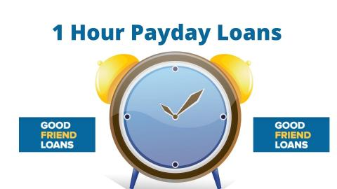 1 Hour Payday Loans No Credit Check