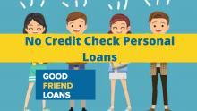 Personal Loans No Credit Check