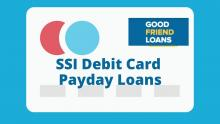 SSI debit card Payday Loans